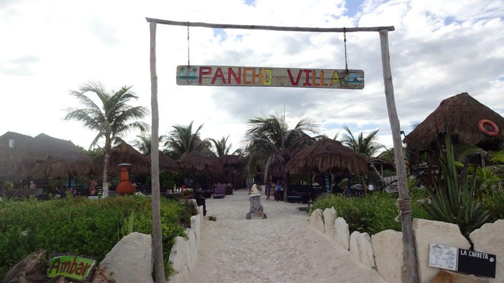 У пляжных отелей очень зеленая территория