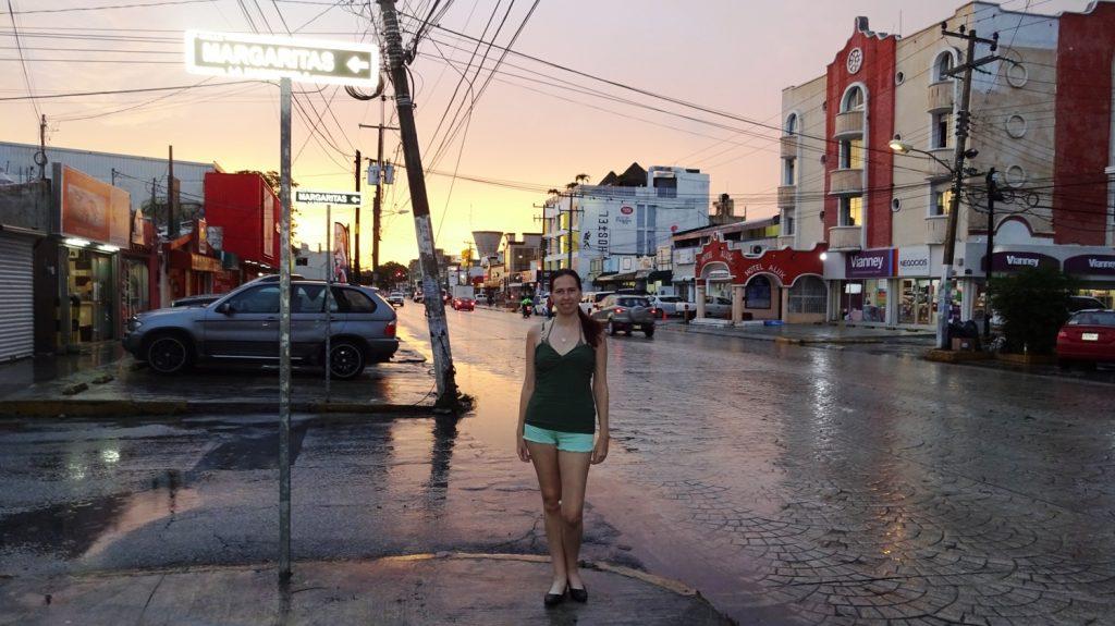 Фотографируюсь в Мексике