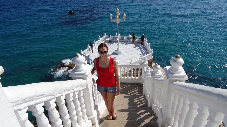 Потрясающий балкон в Бенидорме