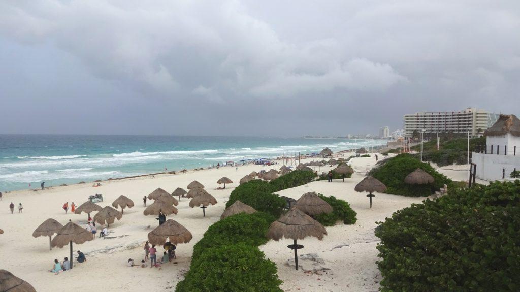 Один из пляжей Канкуна