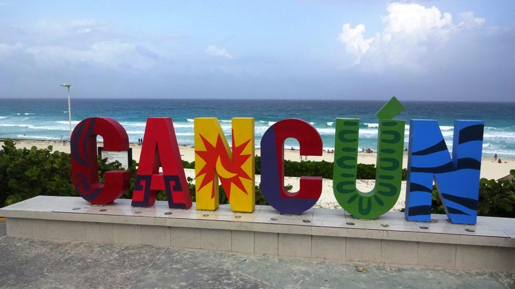 Канкун! Он просто потрясающий
