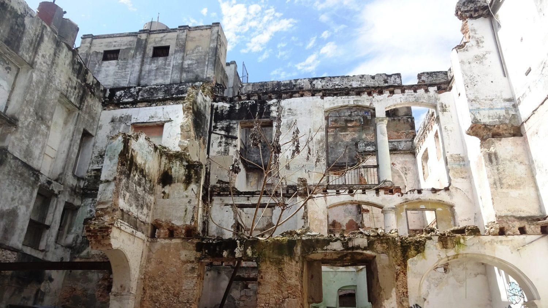 La Habana Vieja... Очень старые дома...