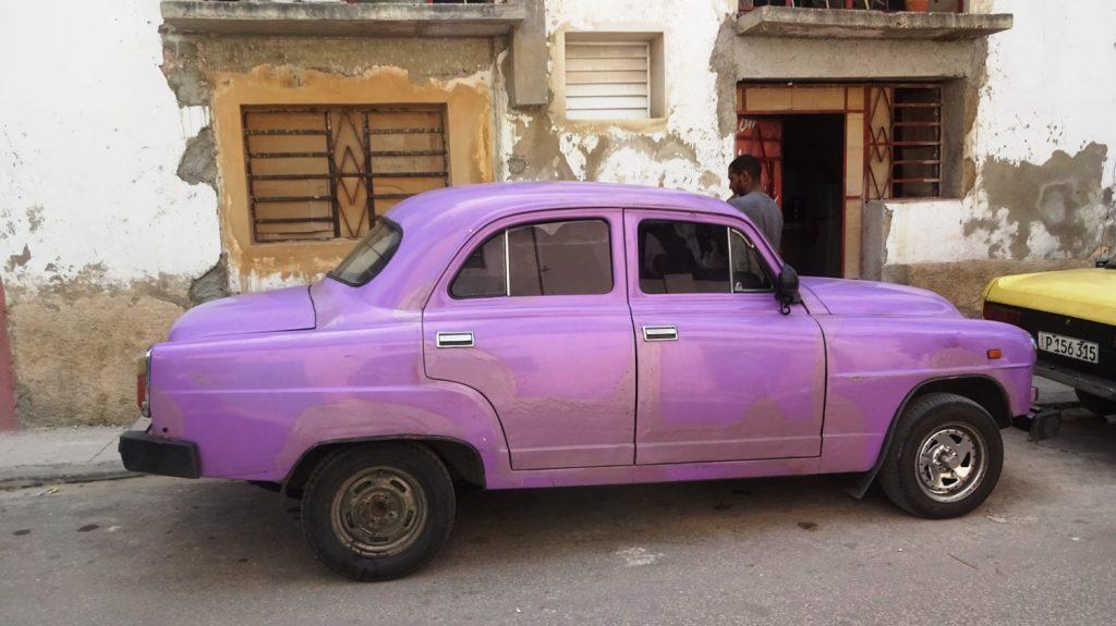 Гавана, старые авто