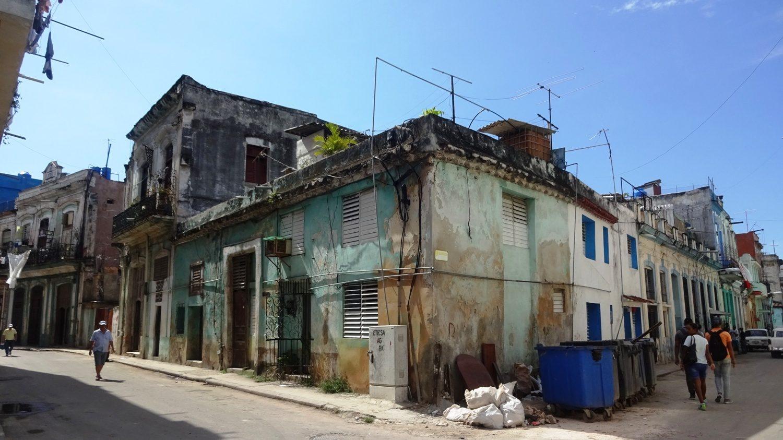 В историческом центре особенно заметно, что город бедный