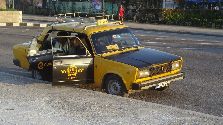 Такси в Гаване