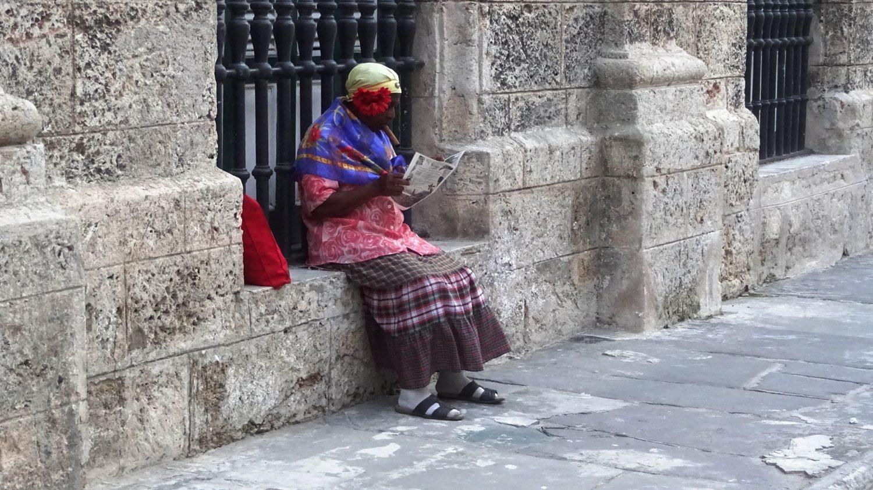 Лично я так и представляла всегда кубинских бабушек