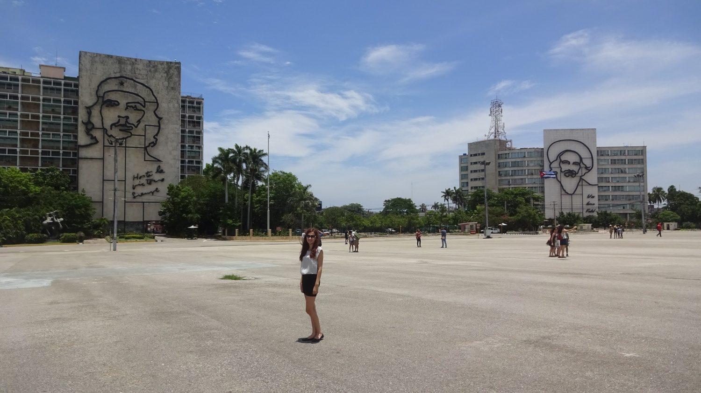 Площадь Революции - очень важное место для кубинцев