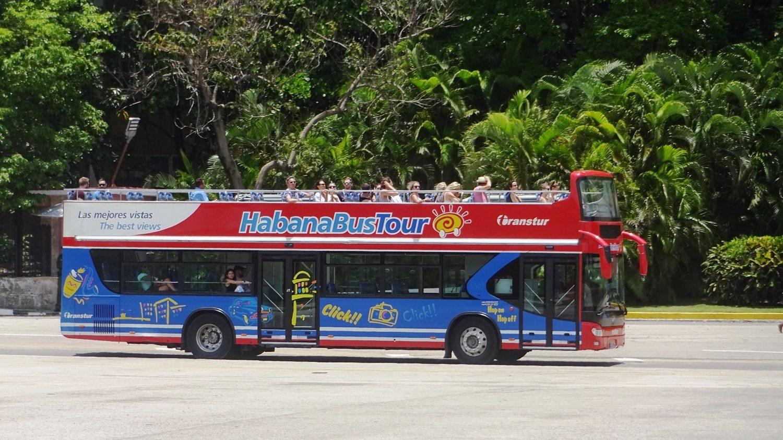 Туристические автобусы здесь есть
