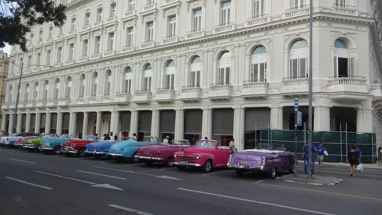 Можно выбрать машину любимого цвета и прокатиться по городу, размахивая руками