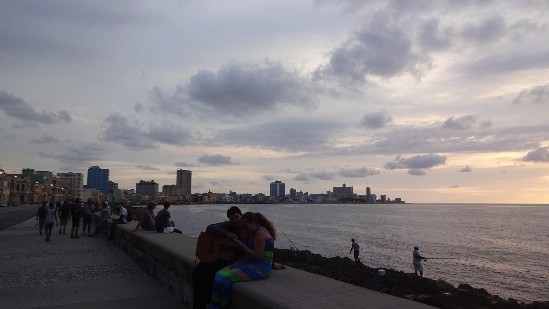 Закаты на Кубе