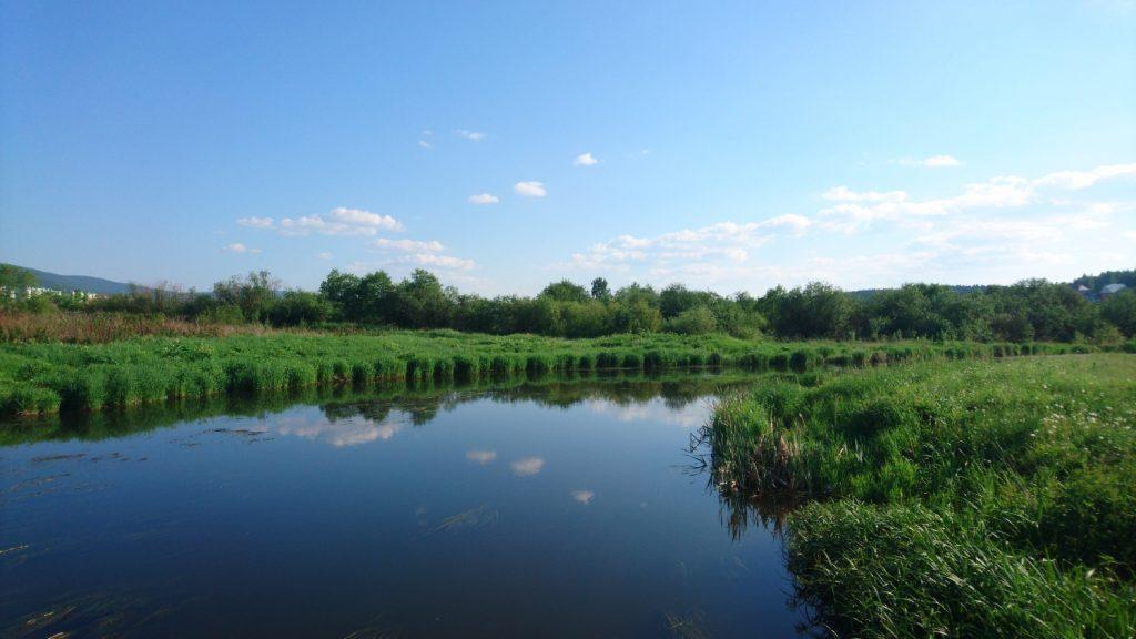 Всегда поражаюсь, как круто наша речка выглядит на фото. Кто видел в реале, тот поймет