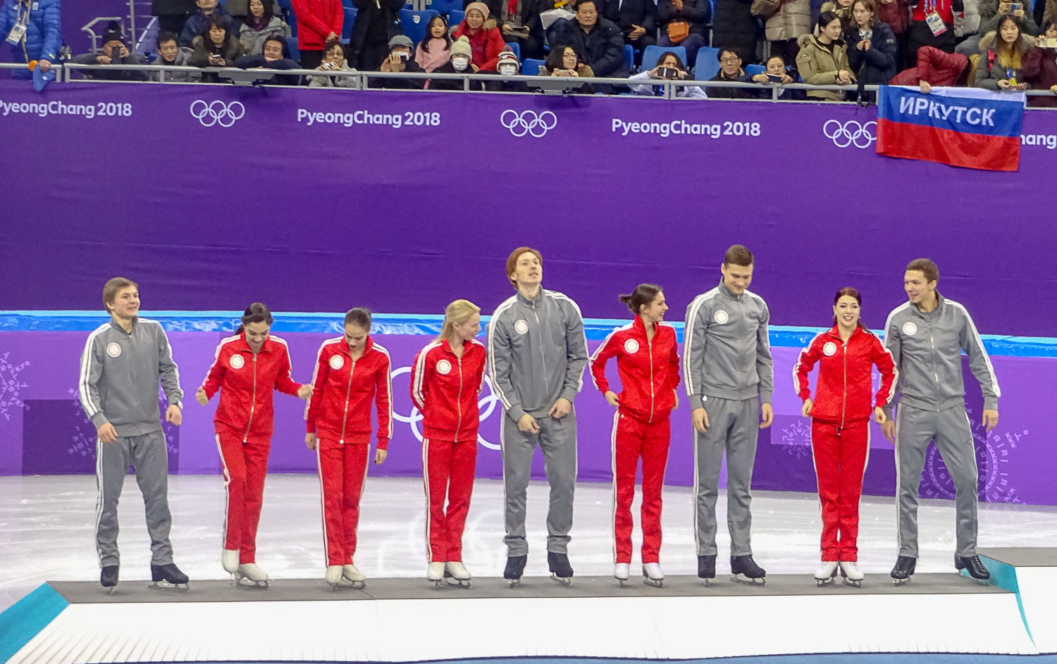 12-02-2018 - Russia: Silver, Team Event