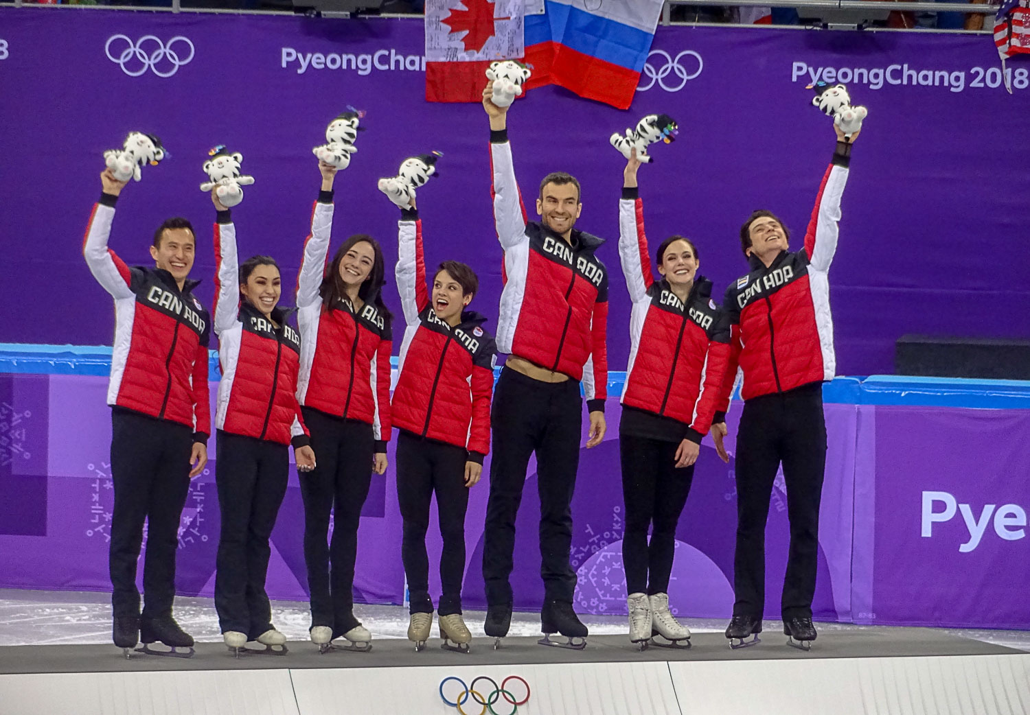 12-02-2018 - Canada: Gold, Team Event