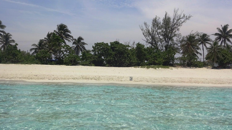 Пляж с воды