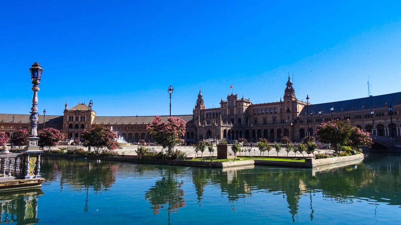 Невероятная, грандиозная, прекрасная площадь Испании