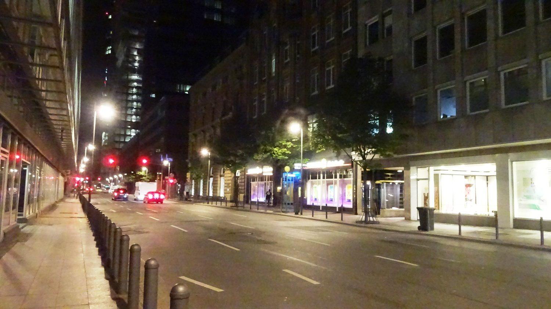 Просто ночной город