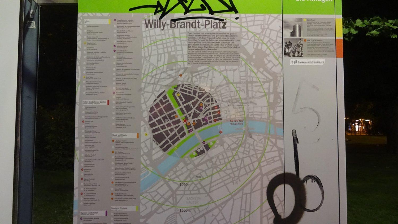 Willy-Brandt-Platz, схема