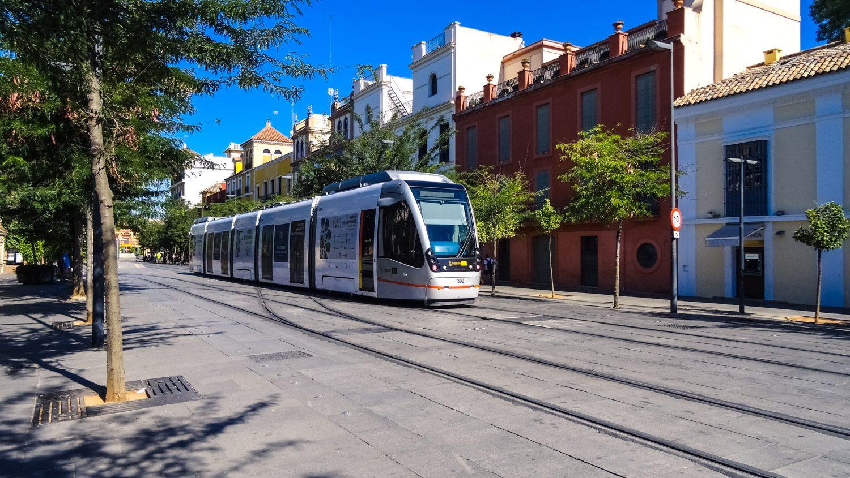 Прекрасные светлые трамваи - верный признак того, что в городе чисто