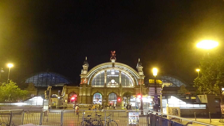 Франкфурт-на-Майне - вокзал