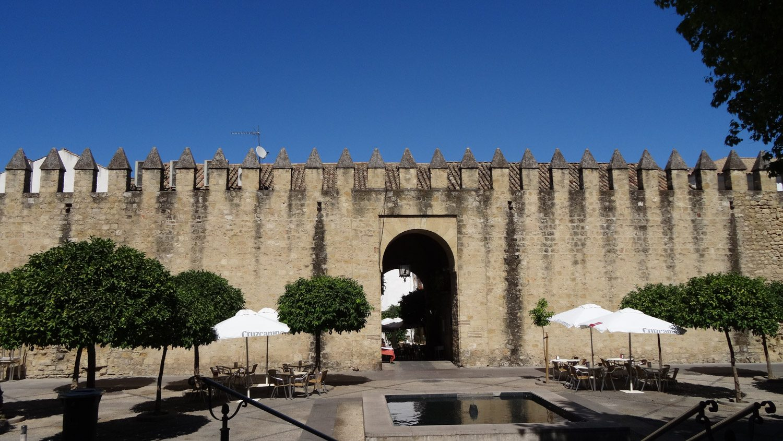 Одни из ворот в стене вокруг мечети