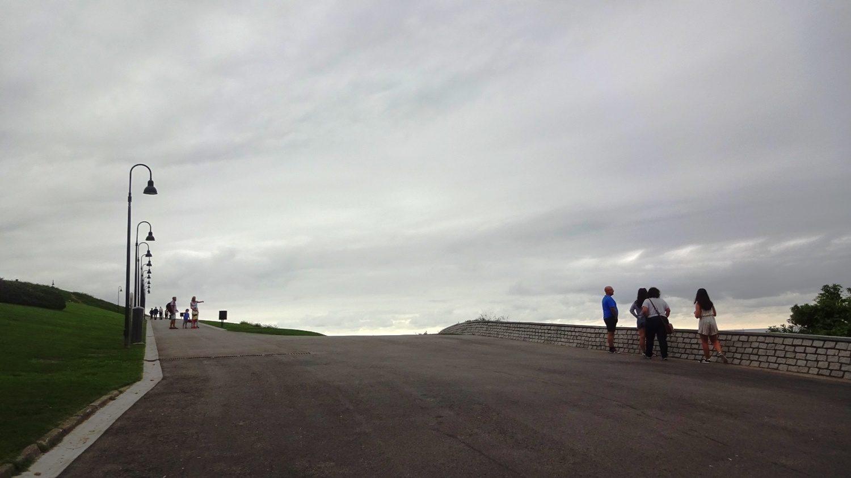 Холм Святой Каталины: подъем