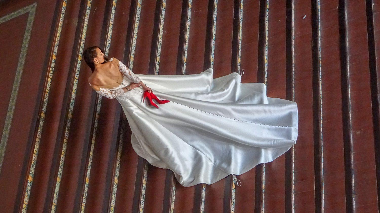 Естественно, место очень популярно для свадебных фотосессий