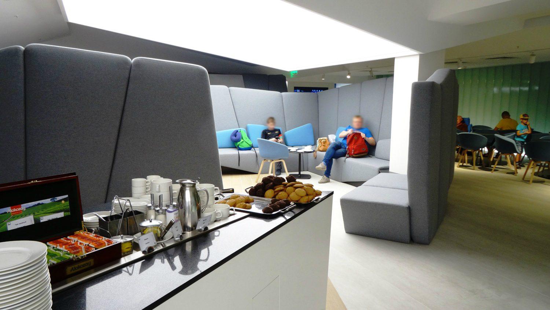 Topaz Business Lounge. Разделение пространства