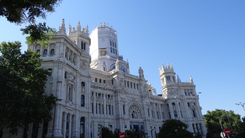 Вот такая в Мадриде администрация (Сity hall). Целый замок!