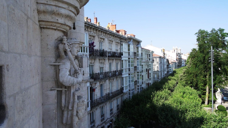 Вид со смотровой площадки арки