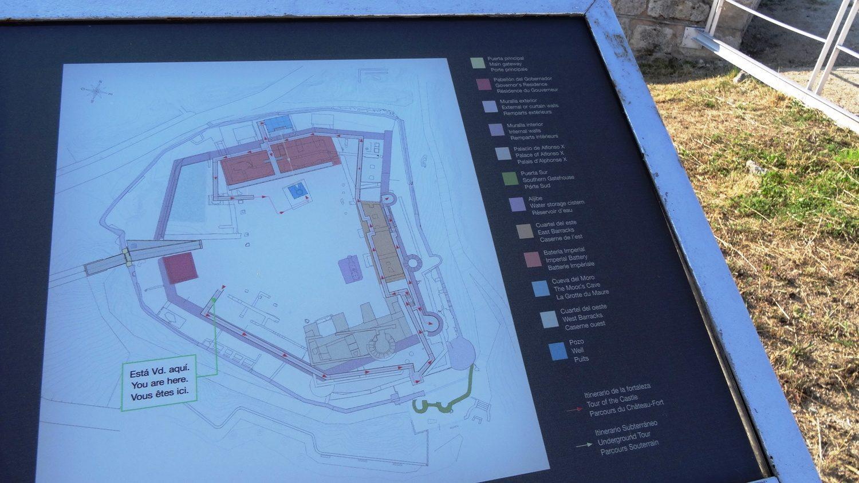 Карта с пояснениями