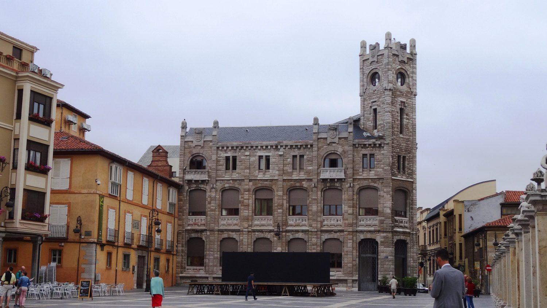Edificio Torreon на Plaza de Regla (где расположен и собор)