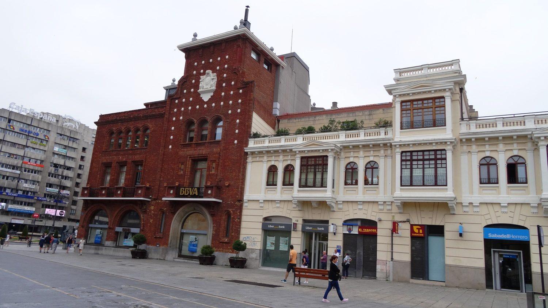 В Европе банки часто в очень красивых зданиях!