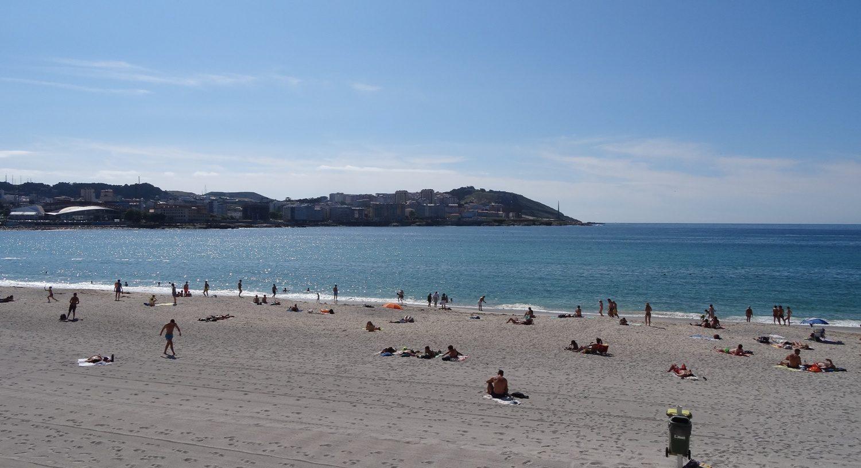 Пляж Риазор, вполне можно удобно расположиться