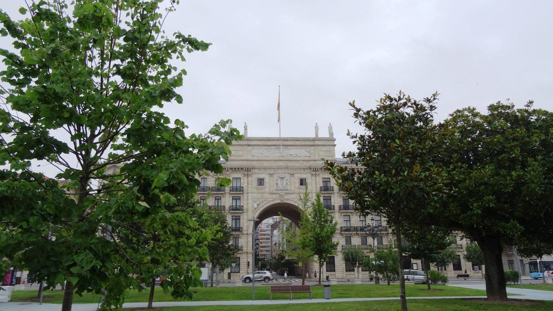 Edificio del Banco Santander - главное здание банка Сантандер