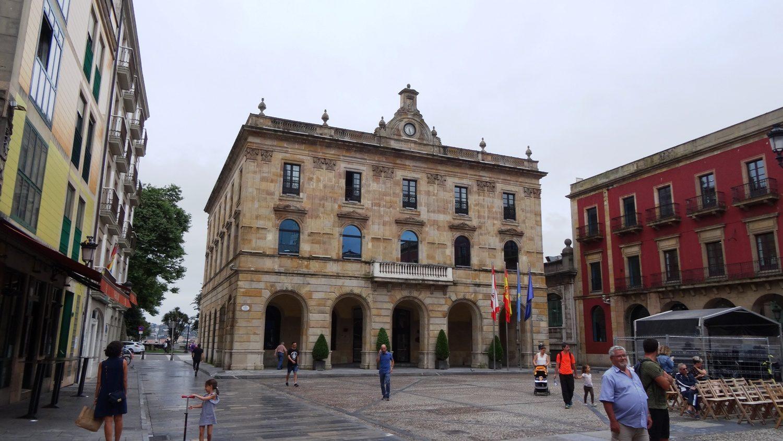 Casa Consistorial - мэрия Хихона