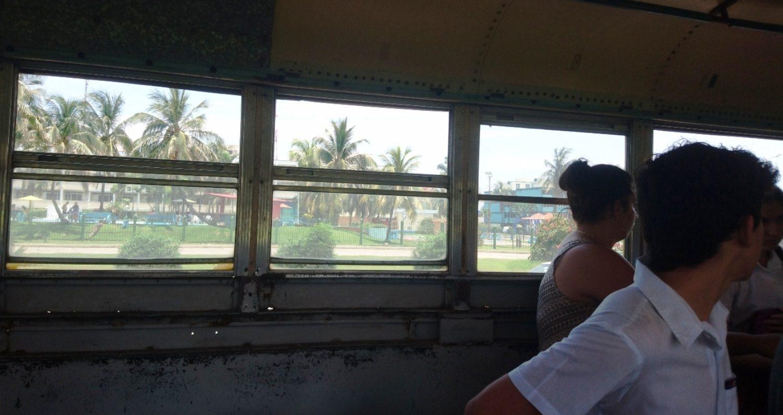 """Наконец-то опробовали поездку в местном """"автобусе"""""""