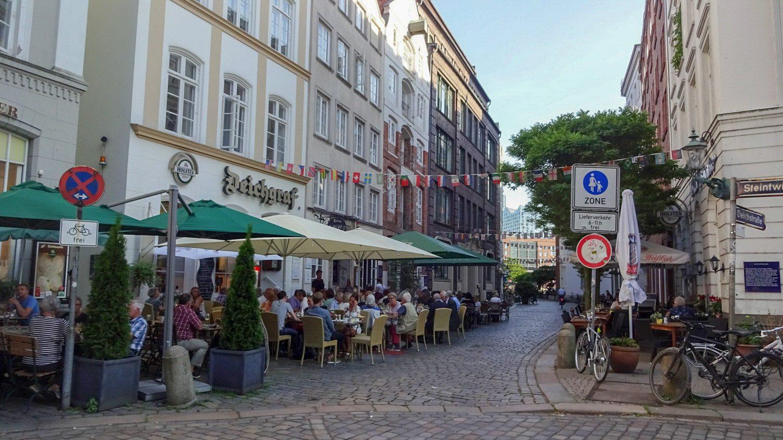Какой же крупный европейский город без уличных кафе?