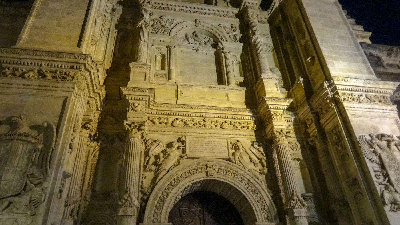 Одна из стен Гранадского собора