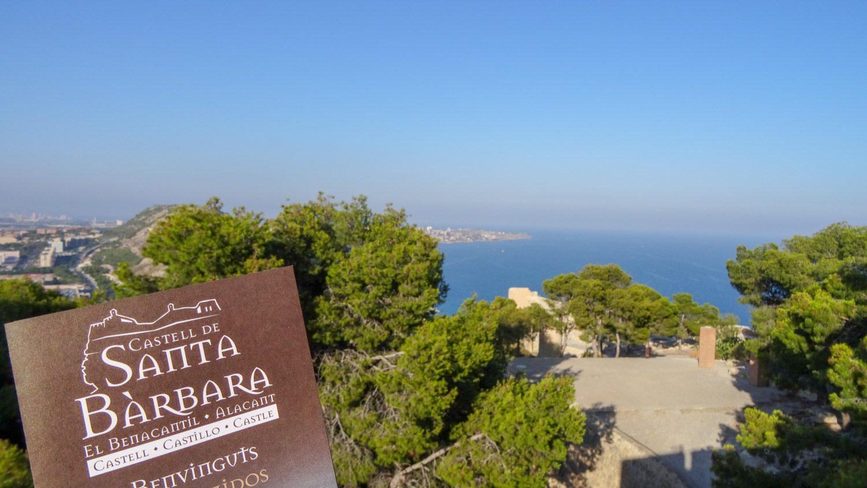 Santa Bárbara Castle! Мы наверху!