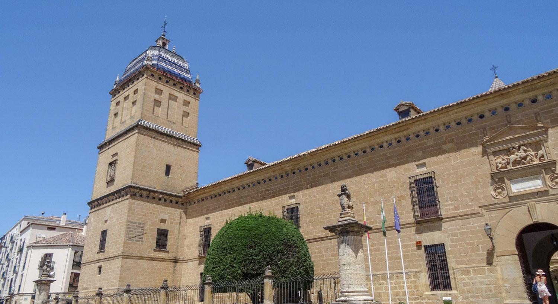 Hospital de Santiago. Бывший госпиталь Сантьяго, а теперь культурный центр