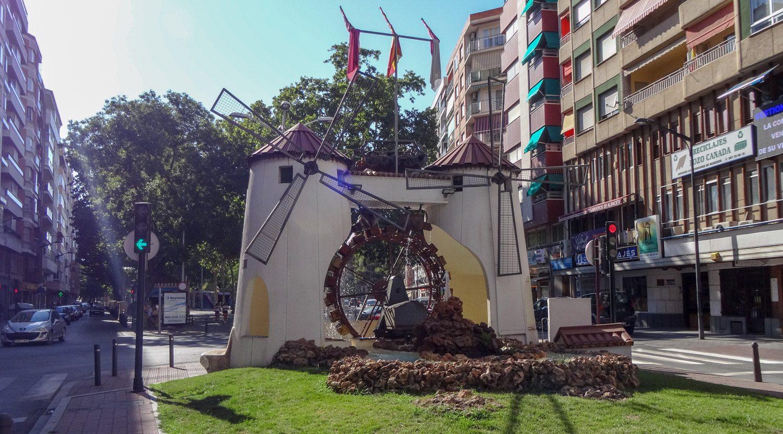 Molino de la Feria, чудесная мельница