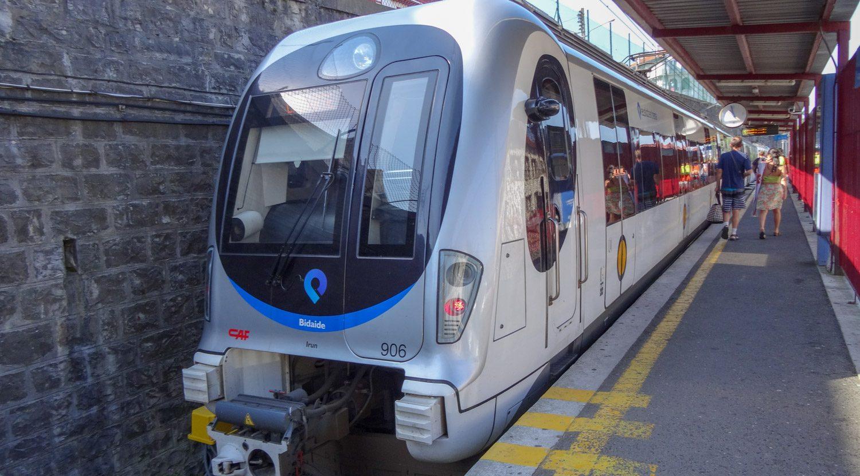 Euskotren - линия Lasarte (Испания) - Hendaia (Франция)
