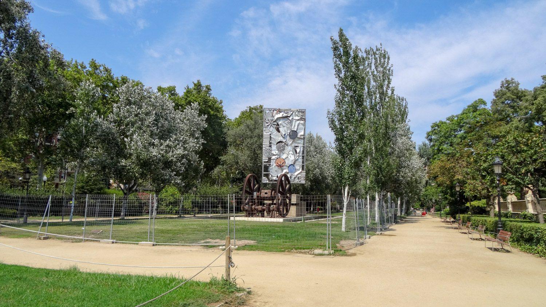 Кажется, я никогда не изучу Parc de la Ciutadella полностью, все время нахожу что-то неожиданное