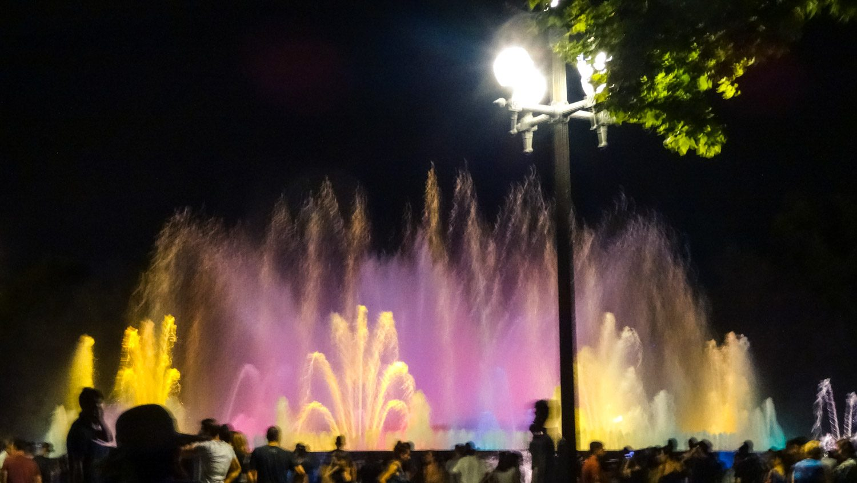 Естественно, я не могла не сходить на фонтаны
