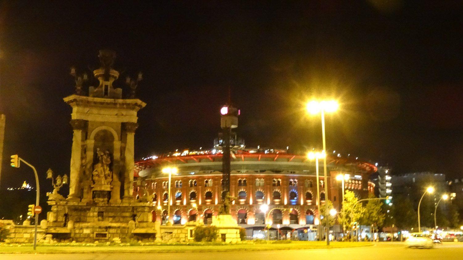 Arenas de Barcelona - построенная в 1900-м году арена для корриды, а после ее запрета - торговый центр