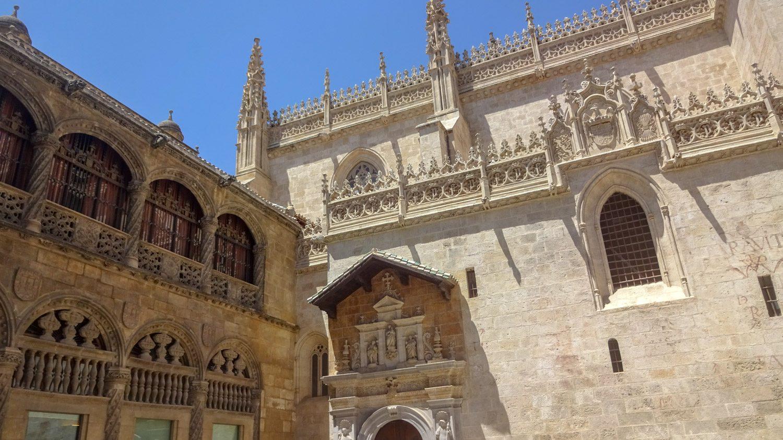 Ажурные элементы собора Гранады