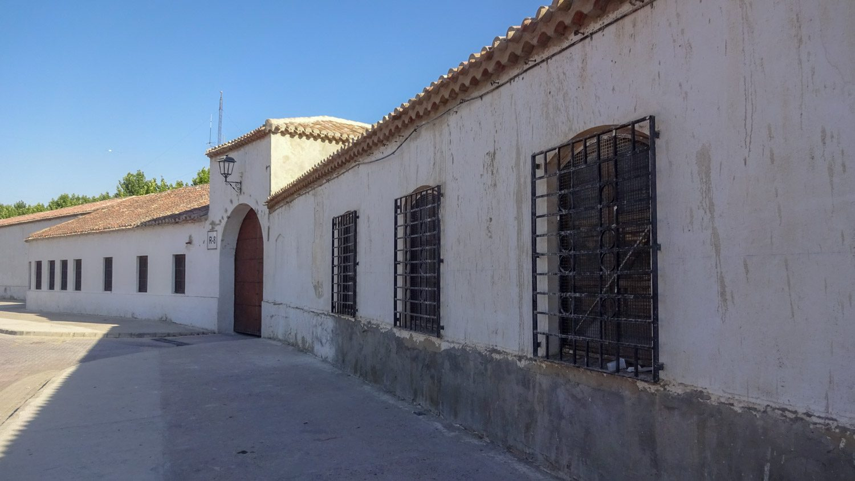 Одна из стен Templete de la Feria