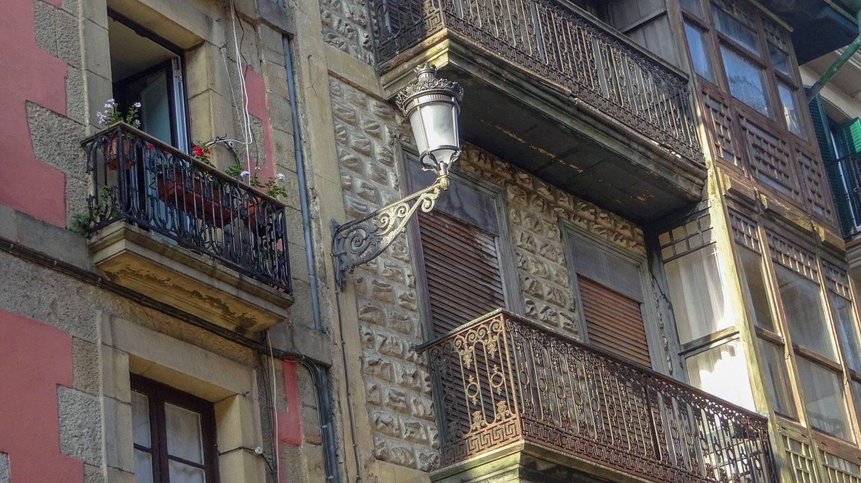 Симпатичные старые здания
