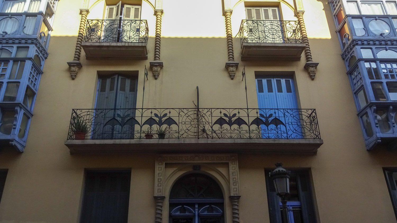 Необычный балкончик