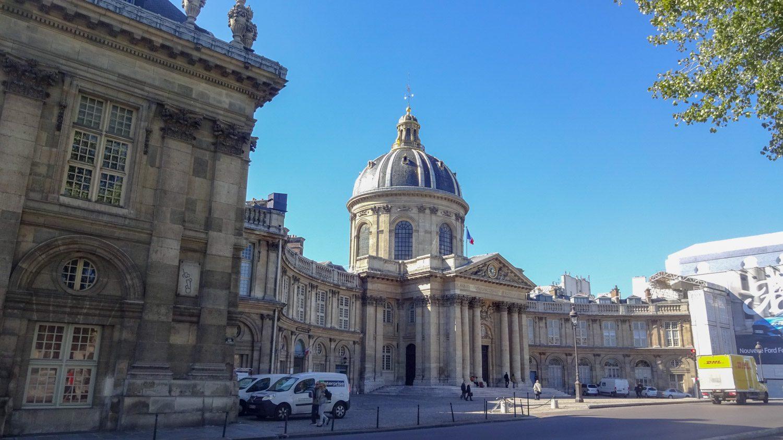 Institut de France - основное научное учреждение Франции вот в таком красивом здании